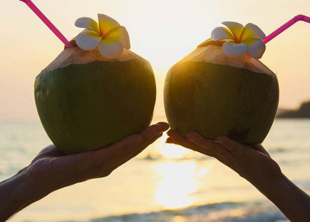 Exotic! The coconut trick is to help orgasm