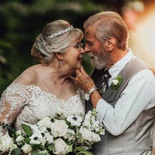 George and Virginia Brown: Their photos for the 60th wedding Show day that love can last a lifetime