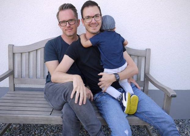"Bjoern and Christian: ""Life is so beautiful with our foster-son Lukas"""